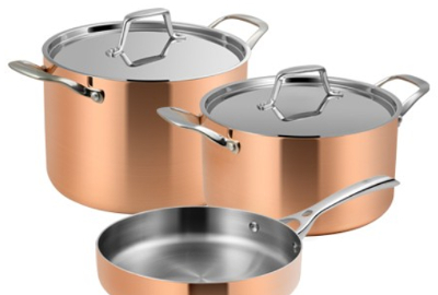 Kupfer-Kochgeschirr