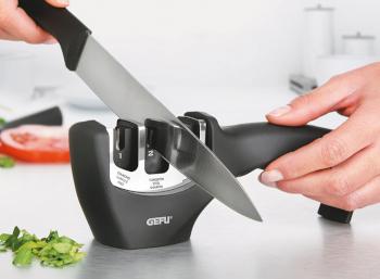 Messerschärfer und Wetzstahl