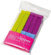Homiez Clipper Beutelverschlussclips 8 Stück in 3 Größen