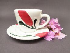 Gmundner Keramik Emotion Rot Espresso-Set