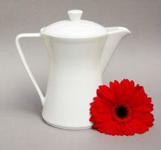 Lilien-Porzellan Daisy Kaffeekanne 1,0l Weiss