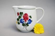 Lilienporzellan Alpenflora Milchkanne,Gießer hoch