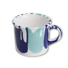 Gmundner Keramik Wasserfall Kaffeehäferl glatt groß (0,24L)