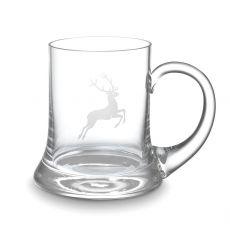 Gmundner Glas Spiegelau Bierkrug Hirsch 0,3l