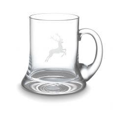 Gmundner Glas Spiegelau Bierkrug Hirsch 0,5l