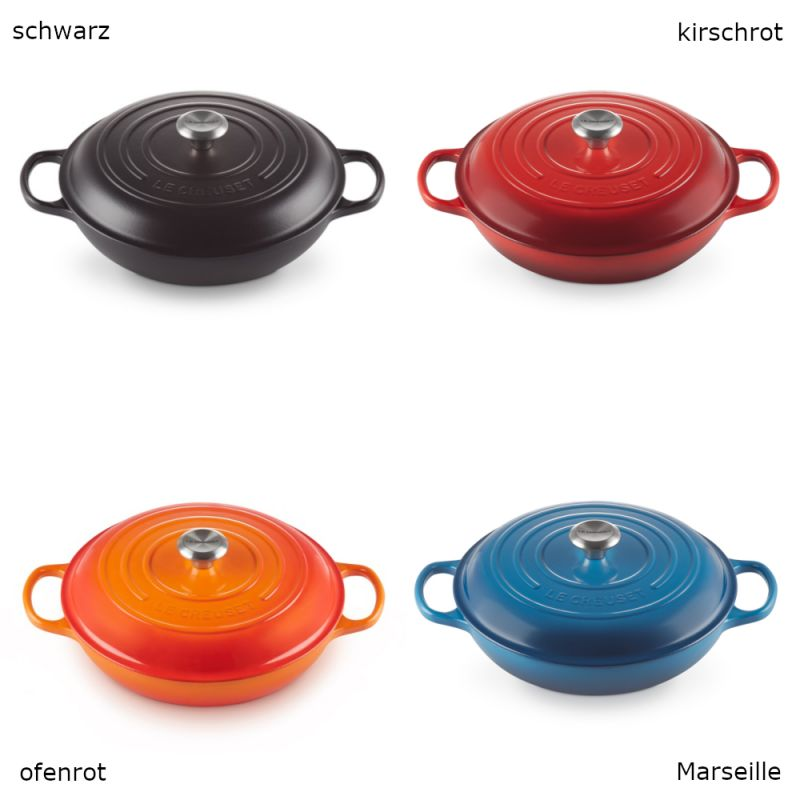 le creuset gourmet profitopf 30cm 3 5l 9 farben. Black Bedroom Furniture Sets. Home Design Ideas