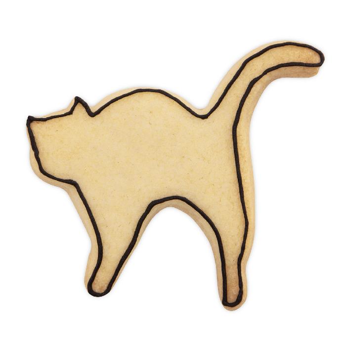 Ausstecher Städter Form Katze mit Buckel 8cm