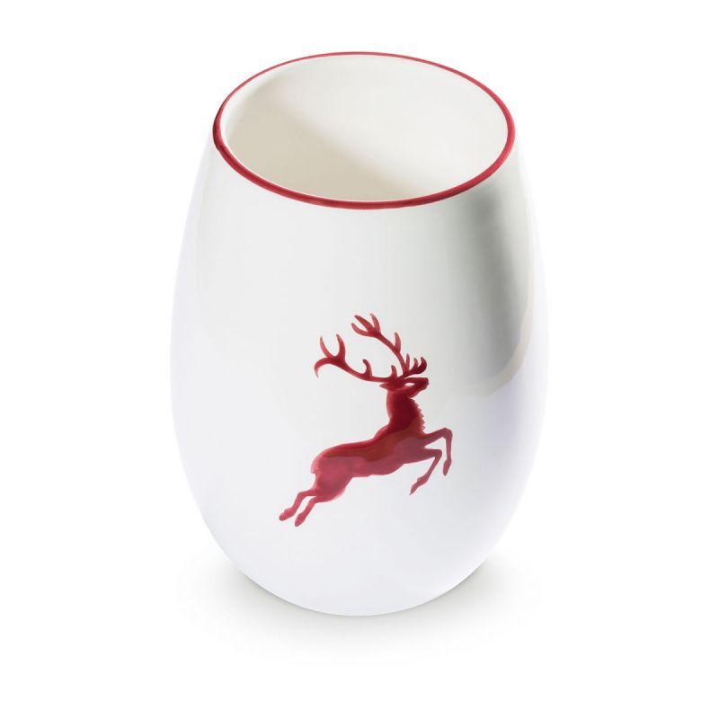 Gmundner Keramik Bordeauxroter Hirsch | Lecker, Gmundner