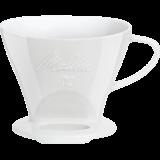 Melitta Kaffeefilter 102 Porzellan weiß