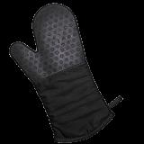 Lurch Backhandschuh Silikon/Textil schwarz
