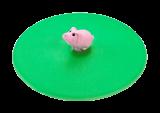 Lurch Glasdeckel Mein Deckel Hoftiere aus Silikon Schwein