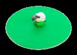 Lurch Glasdeckel Mein Deckel Hoftiere aus Silikon Schaf