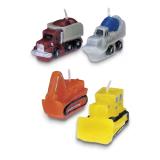Städter Kerzen Baustellenfahrzeuge - Set 4-teilig