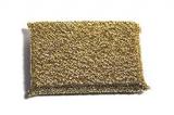 Sponge Luxus Glänzerkissen gold