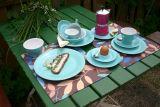 Lilien-Porzellan Daisy Kaffee-Untertasse 15cm Aquamarin
