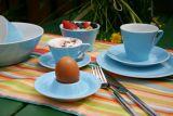 Lilien-Porzellan Daisy Kaffee-Untertasse 15cm Lasurblau