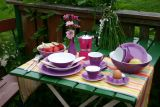 Lilien-Porzellan Daisy Teller flach 19cm Violett