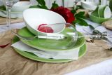 Lilien-Porzellan Daisy Speiseteller 25cm Olive