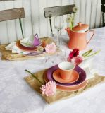 Lilien-Porzellan Daisy Vase Lachsrosa
