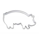 Städter Ausstecher Glücksschwein - 2 Größen