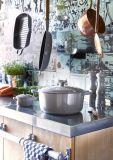 Le Creuset Grillpfanne quadratisch 26x26 cm - perlgrau