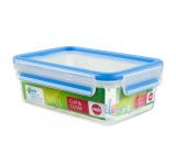 Emsa CLIP & CLOSE Frischhaltedose rechteckig 1,0L
