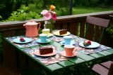 Lilien-Porzellan Daisy Kaffeetasse hoch 18 mit Untertasse 6er Set