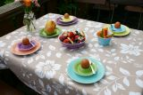 Lilien-Porzellan Daisy Teller flach 17 cm 6er Set