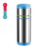 emsa MOBILITY Isolierflasche 0,35L blau/grün