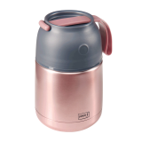 Lurch Thermo-Pot Edelstahl rosa-metallic - 500ml