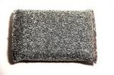 Sponge Luxus Glänzerkissen silber