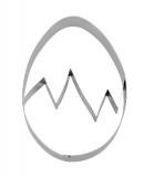 Städter Ausstecher Ei mit Prägesteg 10cm
