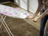Leifheit Bügeltischbezug Cotton Classic Größe M Trend Flowers
