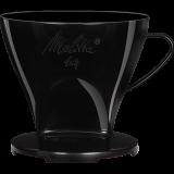Melitta Kaffeefilter 1x4 schwarz