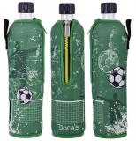 Doras Trinkflasche Glas 0,5l Limited Edition Fußball