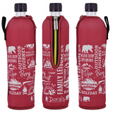 Doras Trinkflasche Glas 0,5l Limited Edition Berg