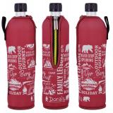 Doras Trinkflasche Glas 0,5l Limited Edition Berg