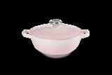 Le Creuset La Marmite Signature 24cm - shell pink